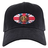 Oi! Crest Union Jack OiSKINBLU Baseball Hat
