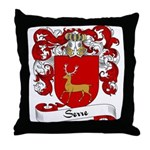 Serre Family Crest Throw Pillow