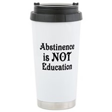 Abstinence Ceramic Travel Mug