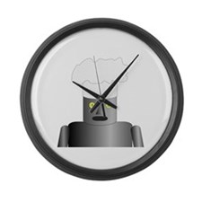 Iron Chef Large Wall Clock