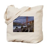 Golden Gate from the Pacific Tote Bag