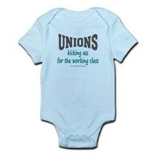 Unions Kicking Ass Infant Bodysuit