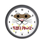 Ferret Power Wall Clock
