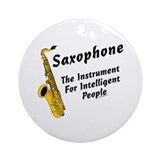 Sax Genius Ornament (Round)