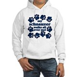 Schnauzer WALKS Hoodie