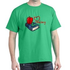 I Love Teaching T-Shirt