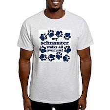 Schnauzer WALKS T-Shirt