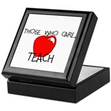Those Who Care- Teach Keepsake Box