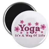 "Yoga Way of Life 2.25"" Magnet (10 pack)"