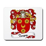 Tanguy Family Crest Mousepad
