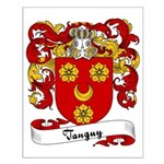 Tanguy Family Crest Small Poster