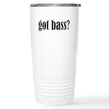 Got Bass Ceramic Travel Mug