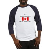 Proud Canadian Baseball Jersey