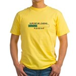 SUPERSTAR LOADING... Yellow T-Shirt