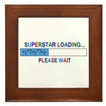 SUPERSTAR LOADING... Framed Tile