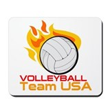 I Love VollyBall Mousepad