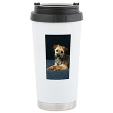 Border Terrier Ceramic Travel Mug