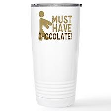 Must Have CHOCOLATE! Zombie Travel Mug