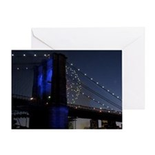 HAPPY BIRTHDAY BLUE FIREWORKS Greeting Card