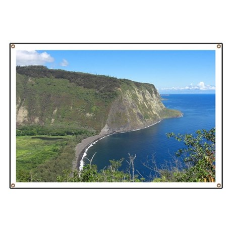 Waipio Valley Banner