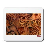 "ArtOfficial ""Faceless"" Mousepad"
