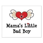 Mama's Little Bad Boy Small Poster