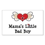 Mama's Little Bad Boy Rectangle Sticker