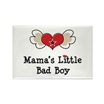 Mama's Little Bad Boy Rectangle Magnet (10 pack)