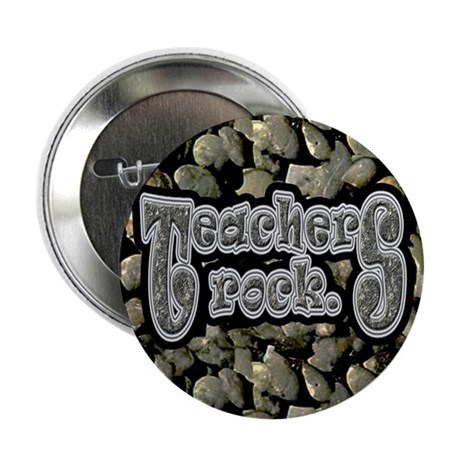 Teachers Rock 2.25&quot; Button