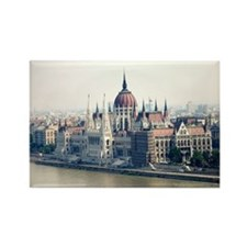 Budapest Parliament Rectangle Magnet