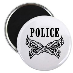 "Police Tattoo 2.25"" Magnet (100 pack)"