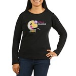 Writer Mama Women's Long Sleeve Dark T-Shirt