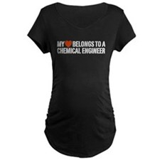 My Heart Belongs to a Chemical Engineer T-Shirt