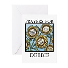 DEBBIE Greeting Cards (Pk of 10)