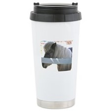 Pony Ceramic Travel Mug