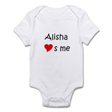 Cute Alisha Infant Bodysuit