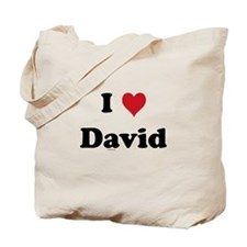 I love David Tote Bag