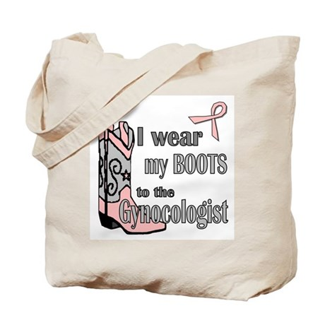 Gynocolgist Stirrup Humor Tote Bag