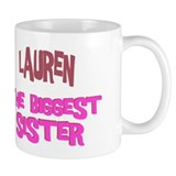 Lauren - The Biggest Sister Mug