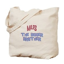 Miles - The Bigger Brother Tote Bag