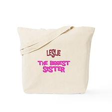 Leslie - The Biggest Sister Tote Bag