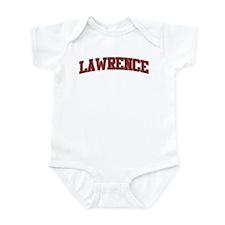 LAWRENCE Design Onesie
