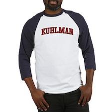 KUHLMAN Design Baseball Jersey