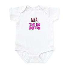 Mya - The Big Sister Infant Bodysuit