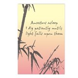 Genealogy Haiku Postcards (Package of 8)