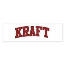 KRAFT Design Bumper Bumper Sticker