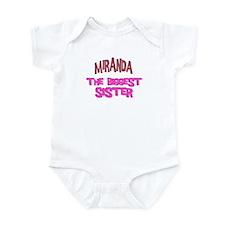 Miranda - The Biggest Sister Infant Bodysuit