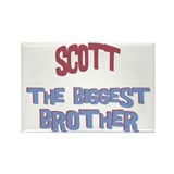 Scott - The Biggest Brother Rectangle Magnet