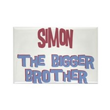 Simon - The Bigger Brother Rectangle Magnet