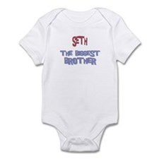 Seth - The Biggest Brother Infant Bodysuit
